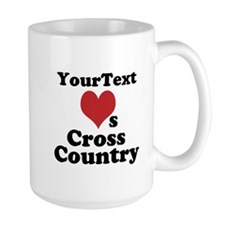 Customize Loves Cross Country Mugs
