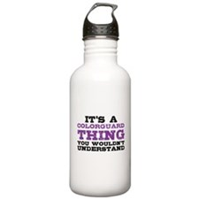 Colorguard Thing Water Bottle
