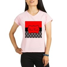 Personalizable Red Black Performance Dry T-Shirt