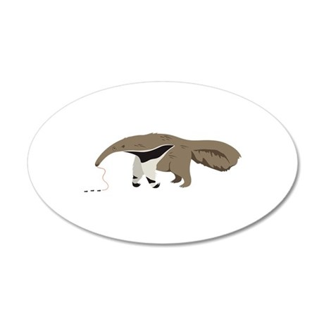 Anteater Ants Wall Decal