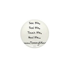 The Who's Tommy, LIVE on stag Mini Button (10 pack