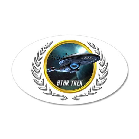 Star trek Federation of Planets Voyager Wall Decal