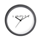 i shift-3 u Wall Clock