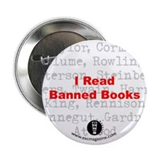 ESC! Magazine Banned Books Button