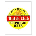 Dutch Club Beer-1952 Small Poster