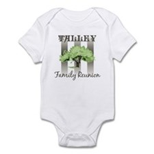 TALLEY family reunion (tree) Infant Bodysuit