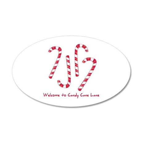 Welcome To Candy Cone Lane Wall Decal