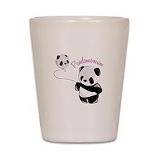 Pandamonium Shot Glass