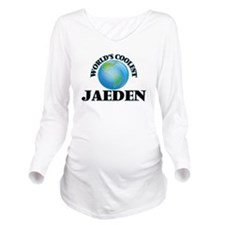 World's Coolest Jaed Long Sleeve Maternity T-Shirt