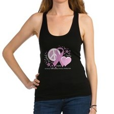 Cute Testicular cancer Racerback Tank Top