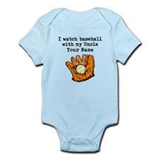 I Watch Baseball With My Uncle (Custom) Body Suit