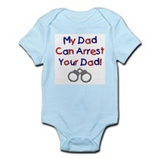 Cute Deputy wives Infant Bodysuit