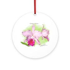 Cattleya Ornament (Round)