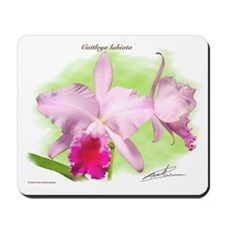 Cute Cattleya Mousepad