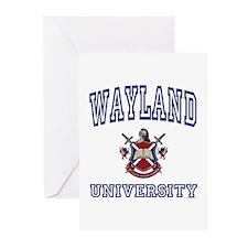 WAYLAND University Greeting Cards (Pk of 10)