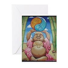 Jolly Buddha Greeting Cards