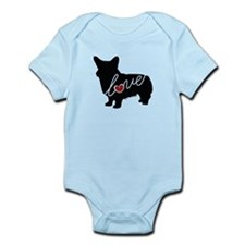 Corgi Love Infant Bodysuit