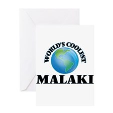 World's Coolest Malaki Greeting Cards