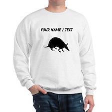 Custom Armadillo Silhouette Sweatshirt