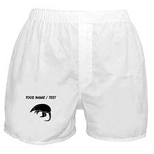 Custom Armadillo Silhouette Boxer Shorts