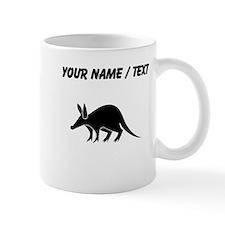 Custom Aardvark Silhouette Mugs