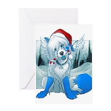 Cute Wolf puppy Greeting Card