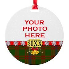 Skene Tartan Christmas Ornament