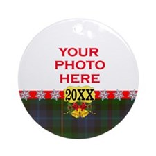 Smith Tartan Christmas Ornament (Round)