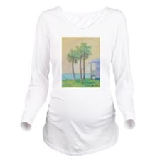 One St. Augustine Morning Long Sleeve Maternity T-