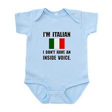 Italian Inside Voice Body Suit