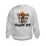 Hell Hath No Fury - Trucker's Wife Kids Sweatshirt