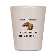 Tech Support Cookies Shot Glass