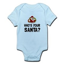 Who Is Your Santa Body Suit