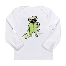 Unique Pug baby Long Sleeve Infant T-Shirt