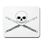 Master Flute Skull Mousepad