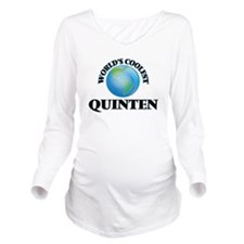 World's Coolest Quin Long Sleeve Maternity T-Shirt
