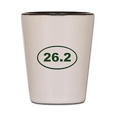 26.2 Green Shot Glass