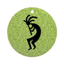Green Kokopelli Gift Keepsake