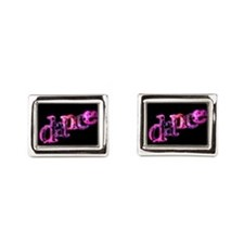 Dance 02 Rectangular Cufflinks