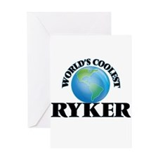 World's Coolest Ryker Greeting Cards