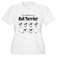 Stubborn Rattie v T-Shirt