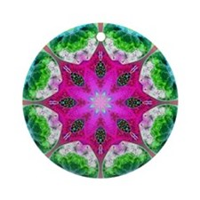 KALEIDOSCOPE Ornament (Round)