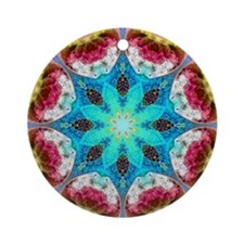 KALEIDOSCOPE 4 Ornament (Round)