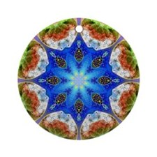 KALEIDOSCOPE 3 Ornament (Round)
