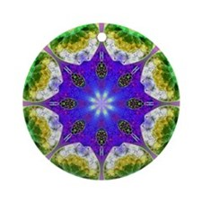 KALEIDOSCOPE 2 Ornament (Round)