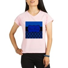 Blue Black Personalized Performance Dry T-Shirt