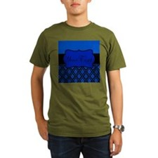 Blue Black Personalized T-Shirt