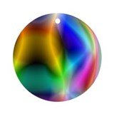 SPACEY RAINBOW Ornament (Round)