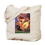 Mandolin Angel & Doxie (BT) Tote Bag