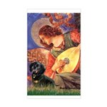 Mandolin Angel & Doxie (BT) Sticker (Rectangle)